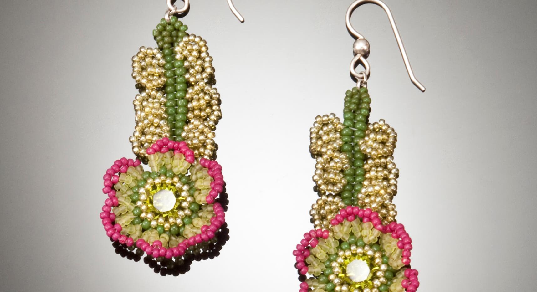 Flowers of The Field Earrings