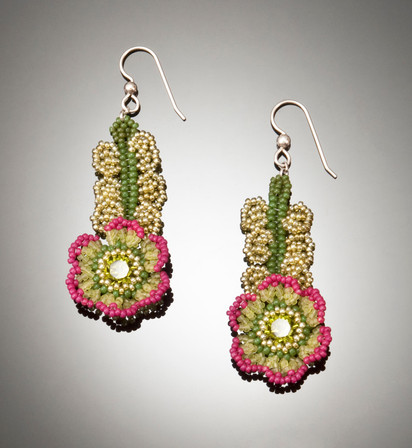 Flowers of The Field Earrings