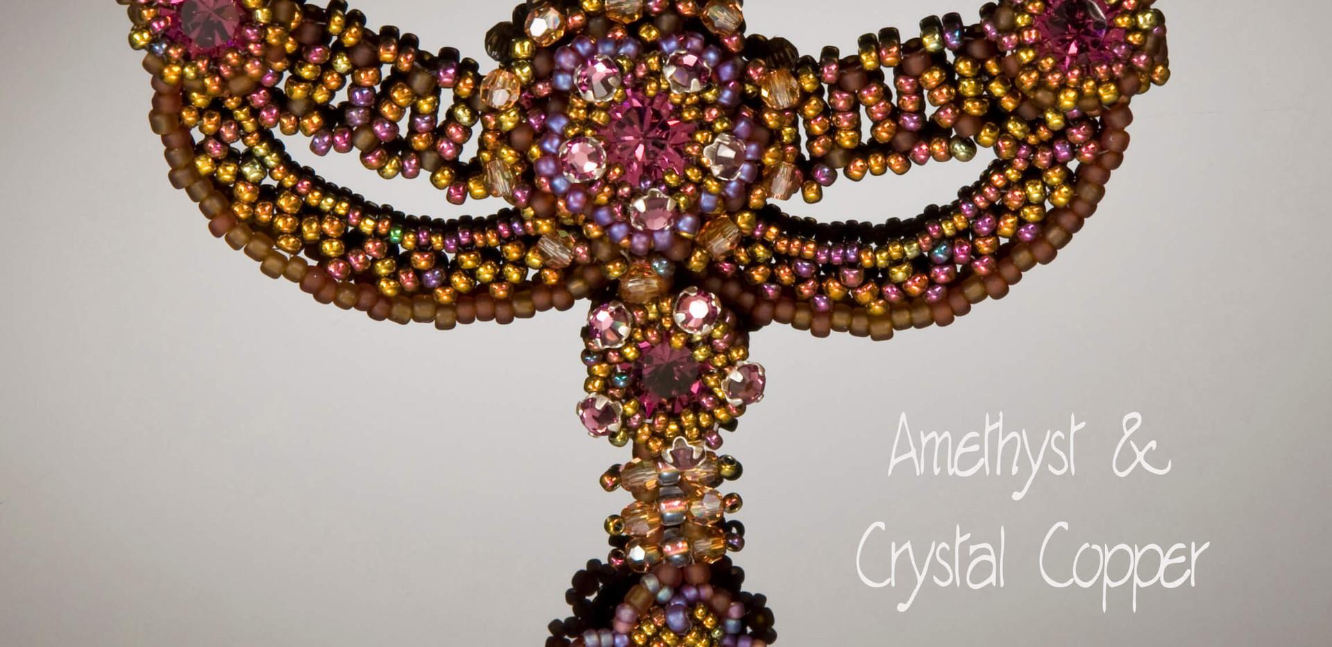 Amethyst & Crystal Copper