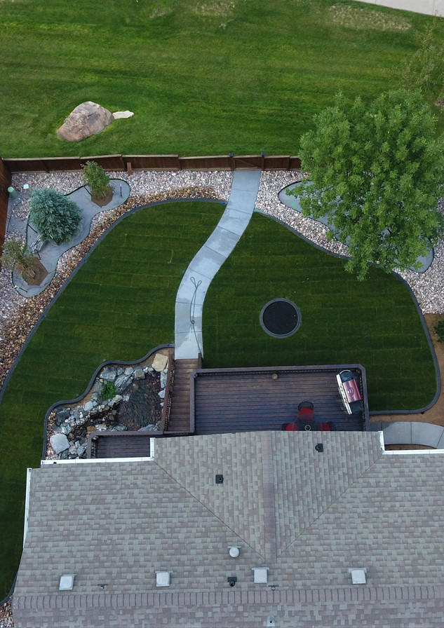 Residence - After Installing Turf Master's Sod