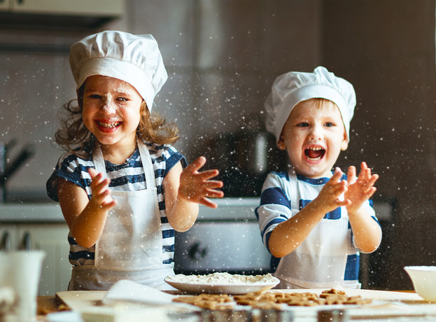 Cooking with Kids: Our Favorite Chocolate Cake