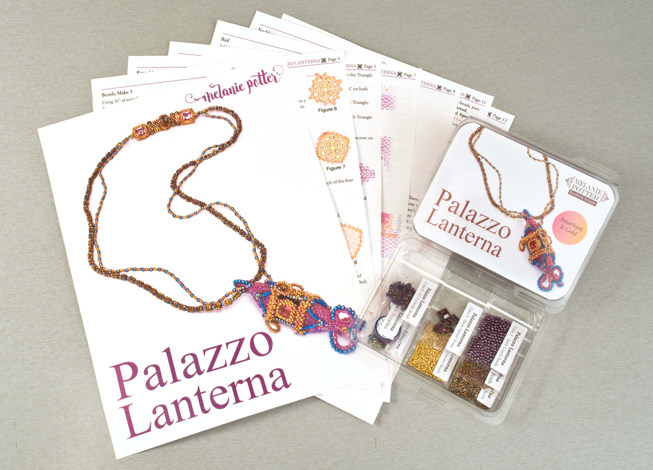 Palazo Lanterna Necklace Kit