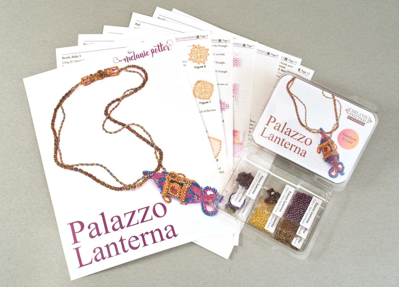 Palazo Lanterna Necklace Kit