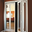 Thumbnail: Mir-Mel Bifold Doors - Chrome Trim