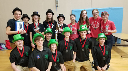 1st Place Alliance with the Thunder PengWins (11150) and Quantum Leap (8438) at North Branch!