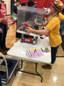 Robot Inspection at the Lakeville South tournament