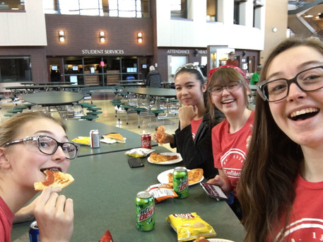 Lunch at Lakeville South!