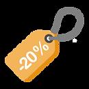 20% de réduction