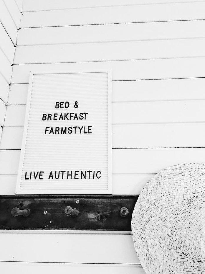 Live authentic