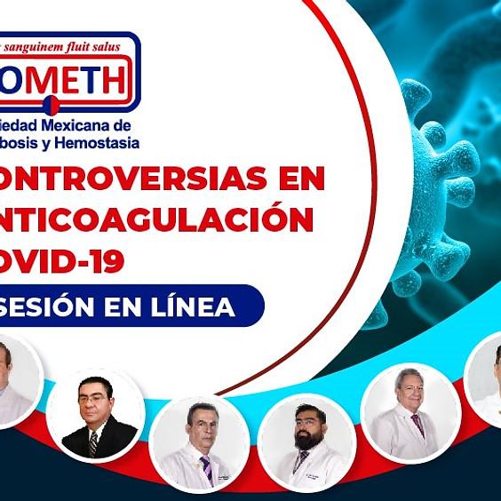 Sesión en línea: Controversias en anticoagulación-COVID 19