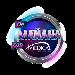 Logo De Mañana con Medical.png