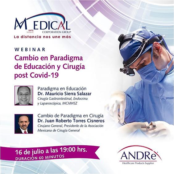 Cambio en Paradigma de Educación y Cirugía post Covid-19