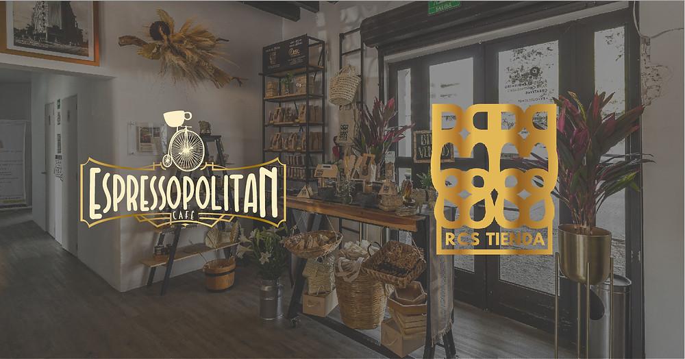 Banner RCS tienda y Espressopolitan Café