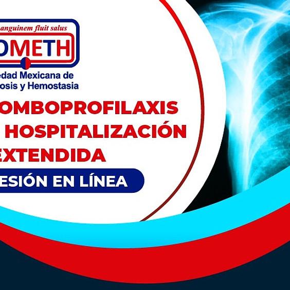 Sesión en línea: Tromboprofilaxis en hospitalización y extendida