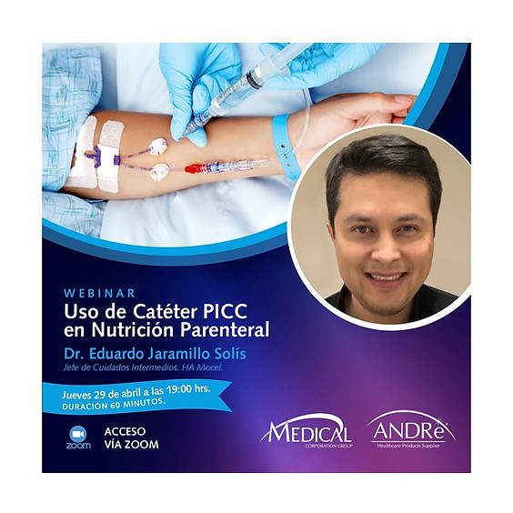 Uso de Catéter PICC en Nutrición Parenteral