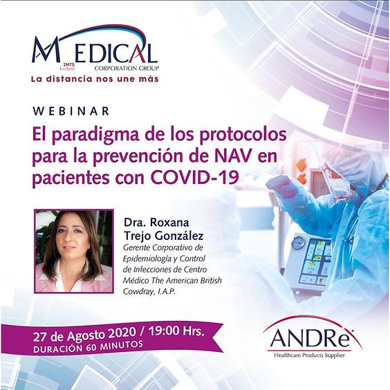 El paradigma de los protocolos para la prevención de NAV en pacientes con COVID-19