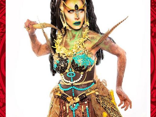 El folclore a través de pestañas & pelucas
