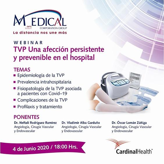 TVP Una afectación persistente y prevenible en el hospital.