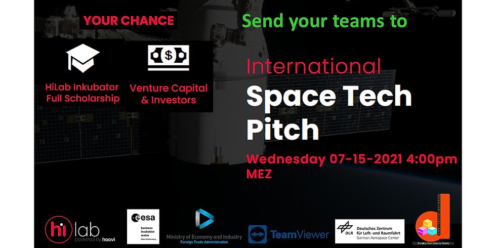 International Space Tech Pitch