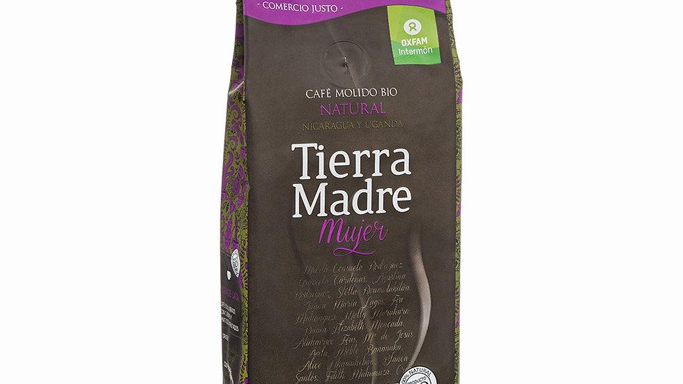 TIERRA MADRE KAFE TXIGORTUA. CAFÉ MOLIDO TIERRA MADRE NICARAGUA-UGANDA