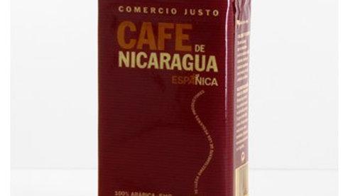 NIKARAGUA TXIGORTUTAKO KAFEA %00 ARABIKA. CAFÉ MOLIDO NICARAGUA 100% ARABICA