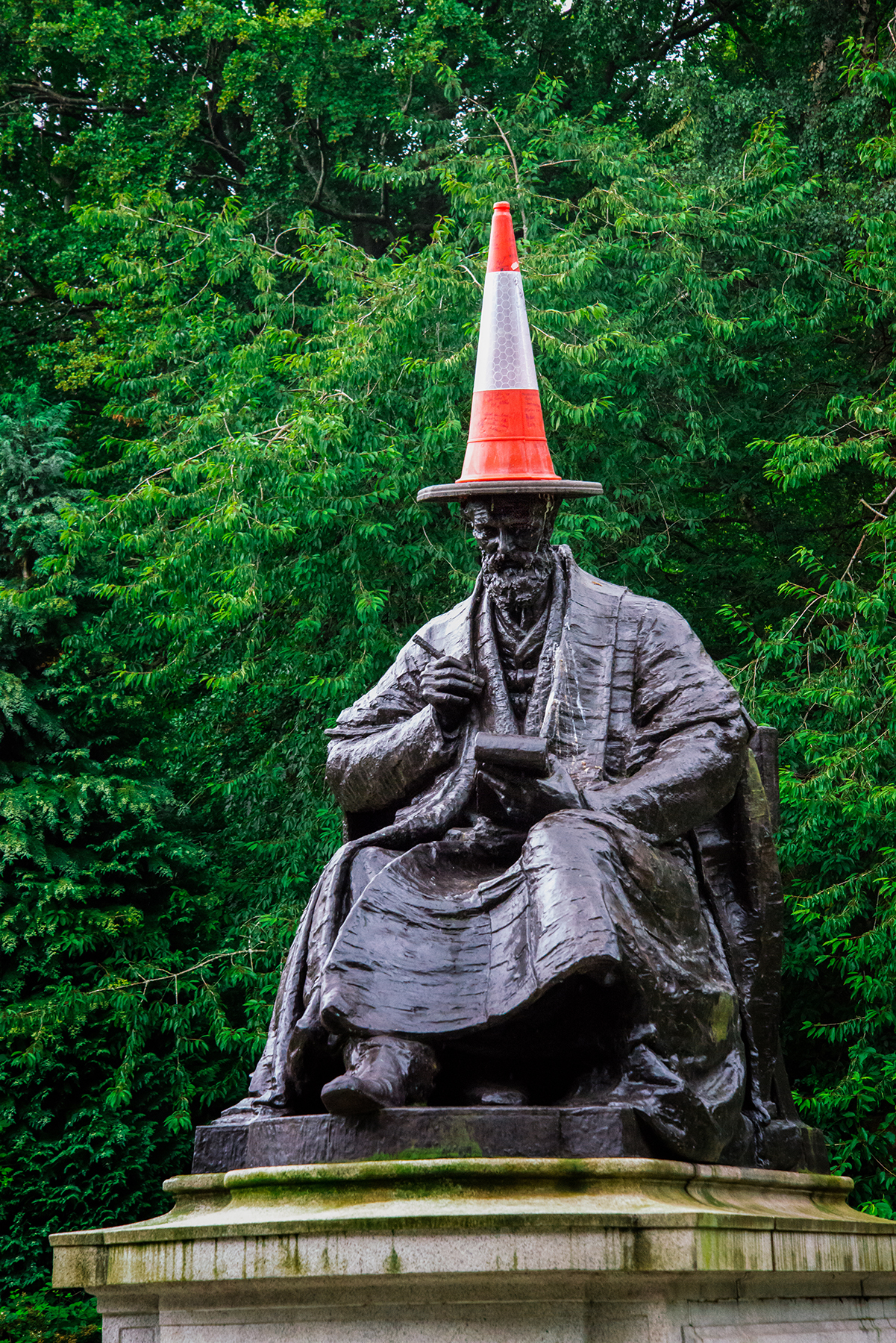 Lord Kelvin, Kelvingrove Park
