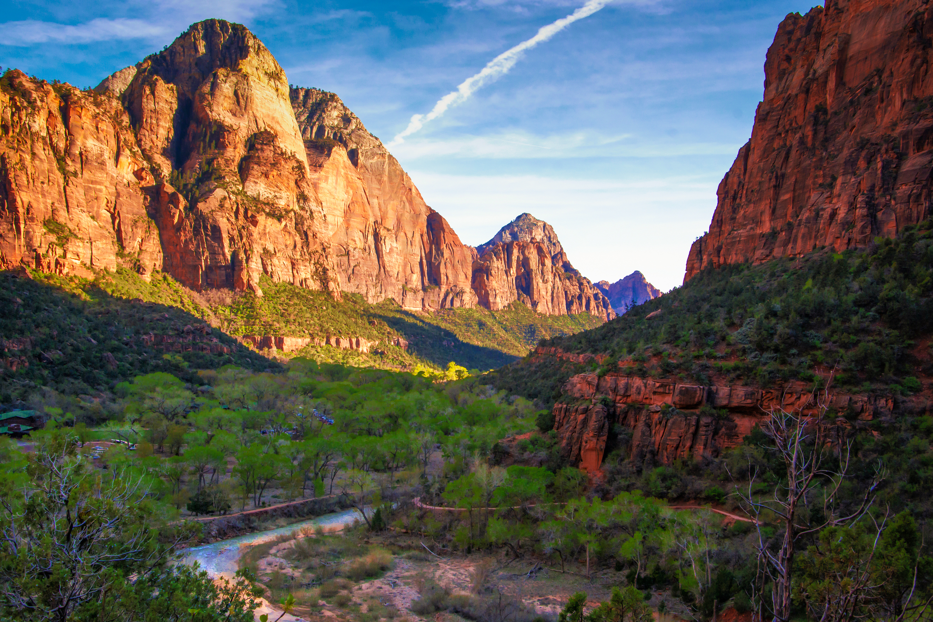The Virgin River and Mountain of the Sun