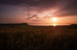 Sunset at Totscore