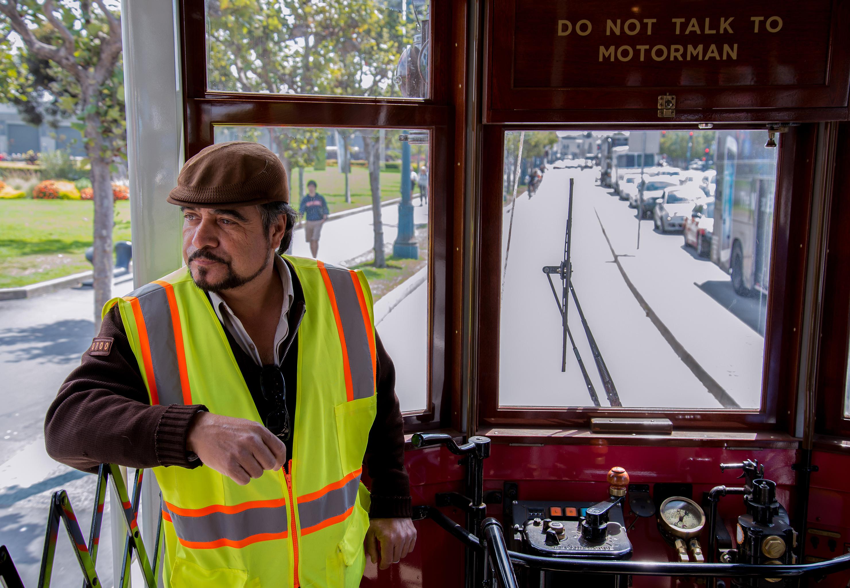Motorman-San Francisco Cable Car