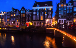 Night Lights of Amsterdam