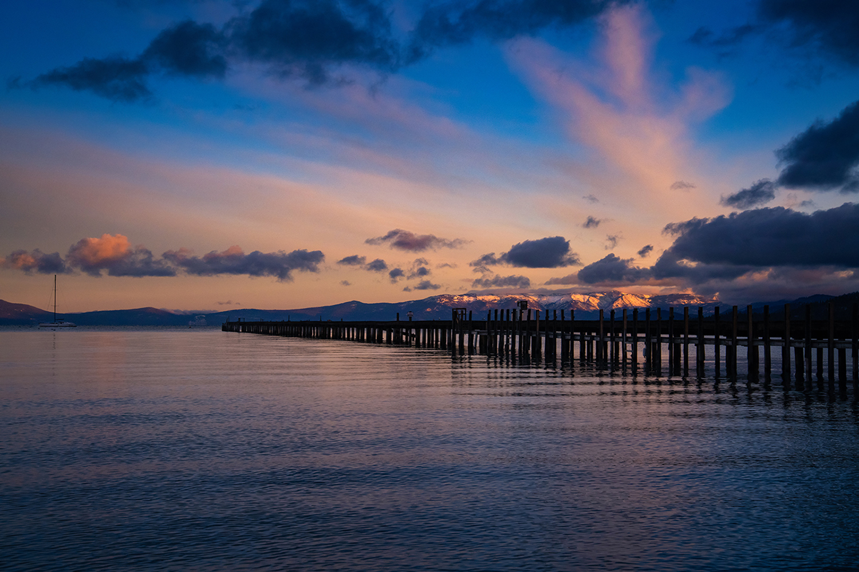 Sunrise in Tahoe