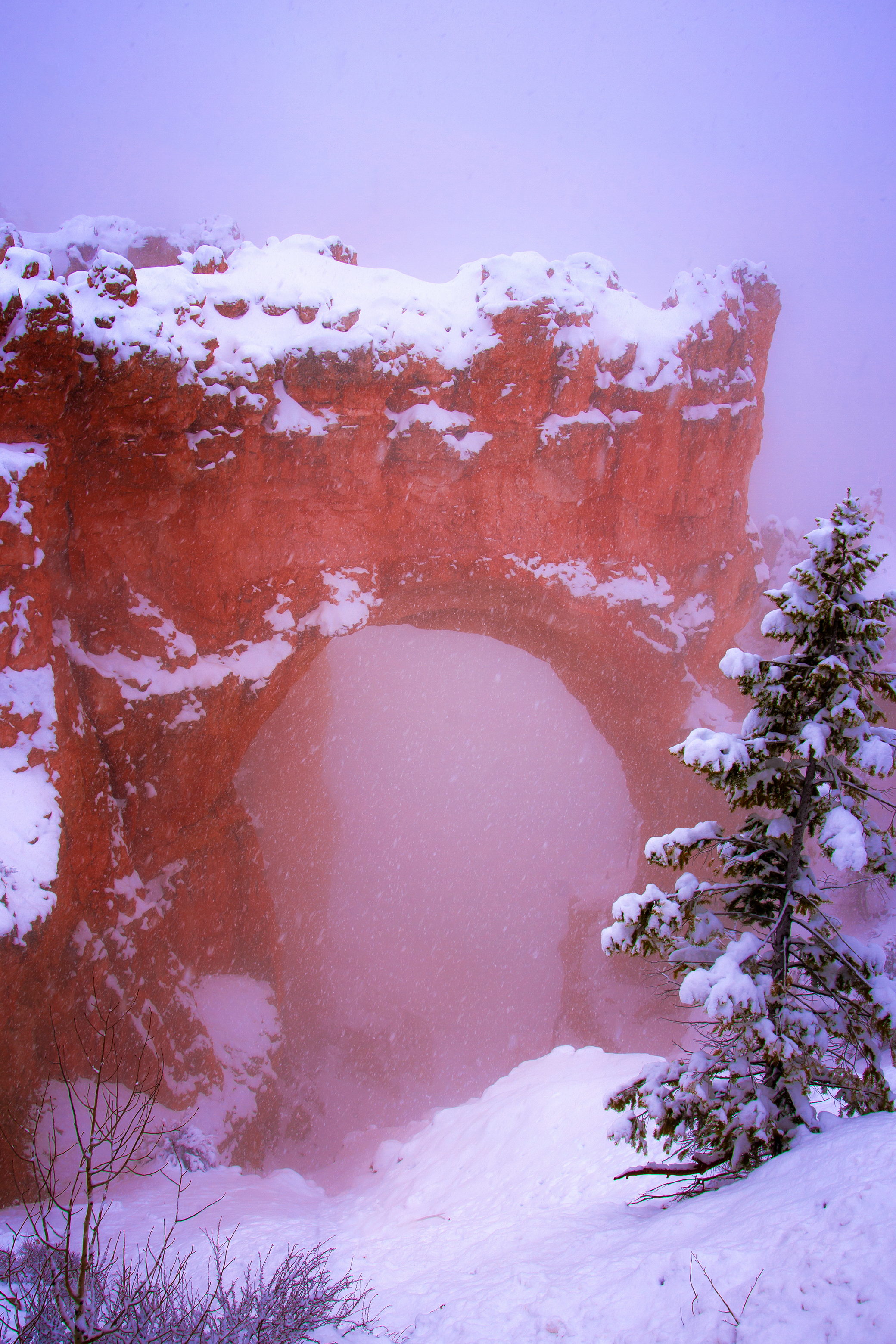 Natural Bridge, Bryce Canyon
