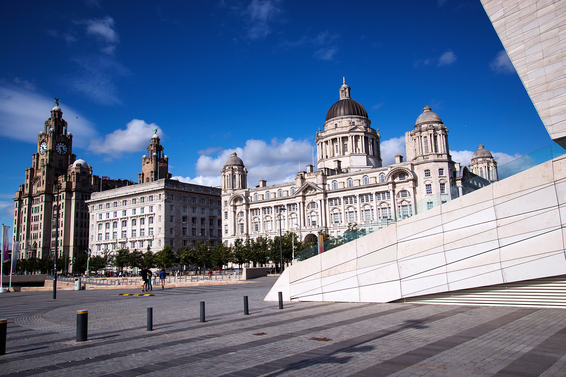 Canada Boulevard Liverpool Waterfront