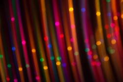 Holiday Lights 2--abstract