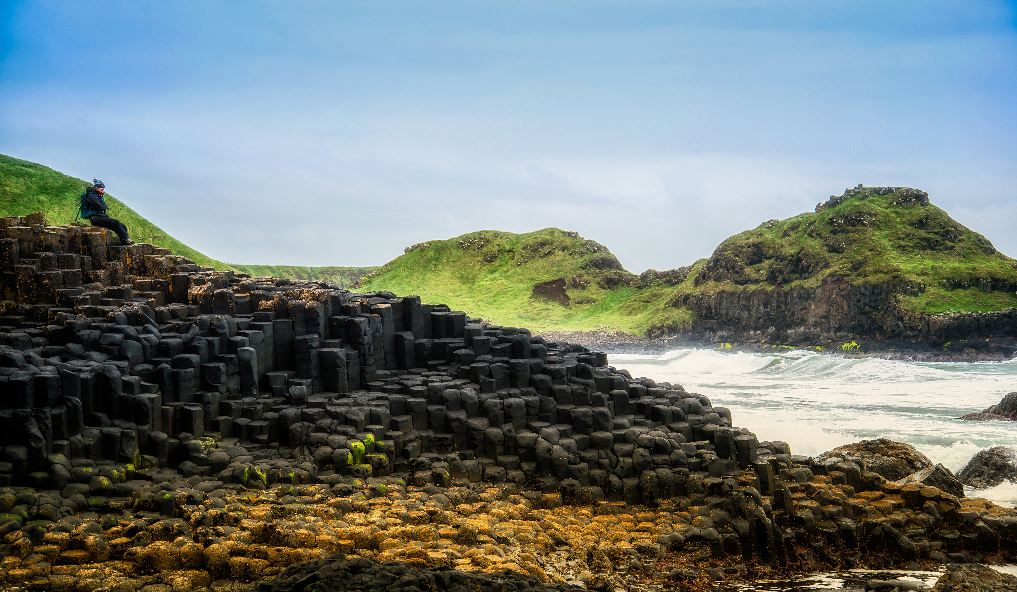 Contemplation at Giant's Causeway