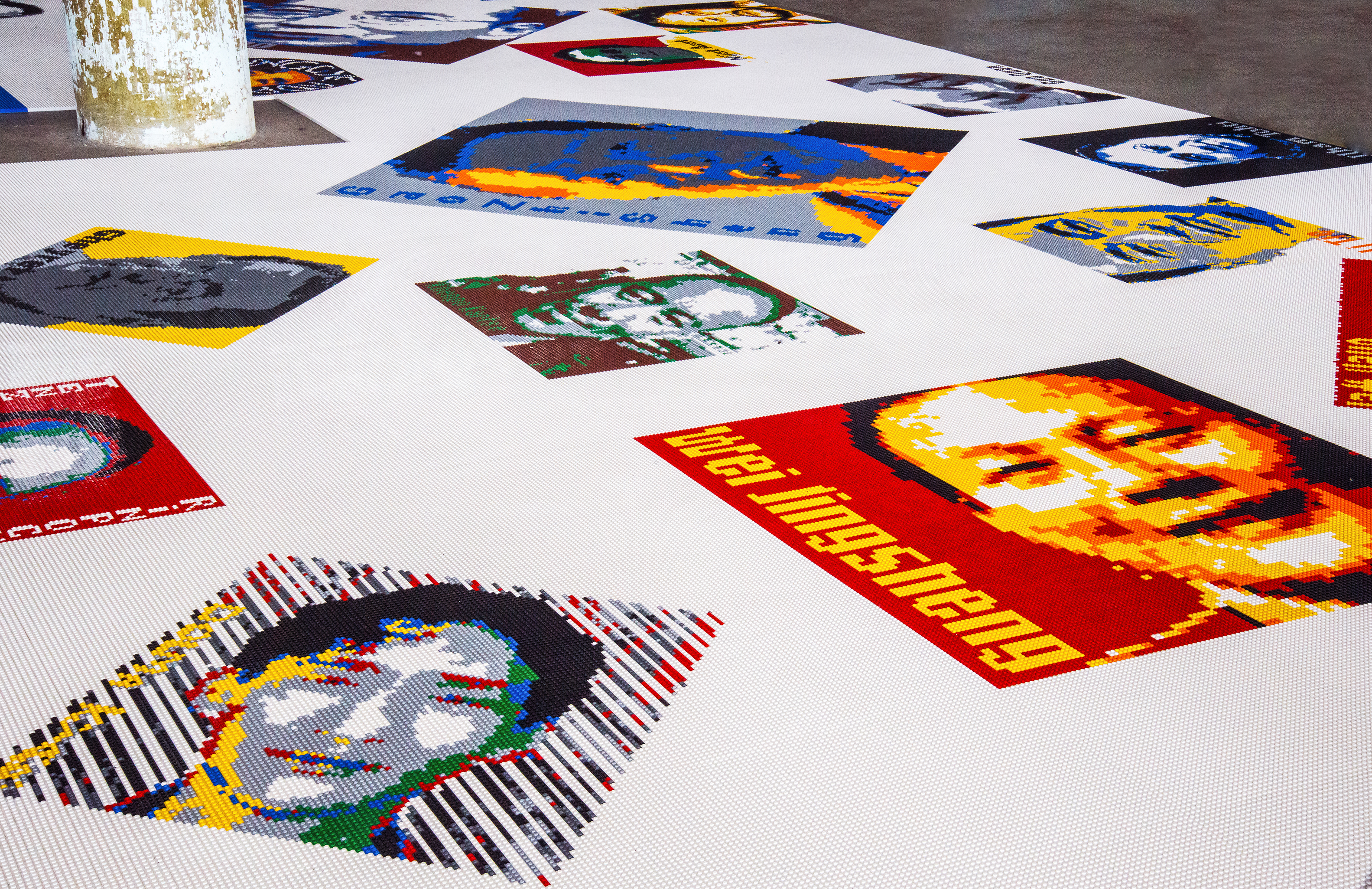Ai Wei Wei Chinese Dissidents in Lego at