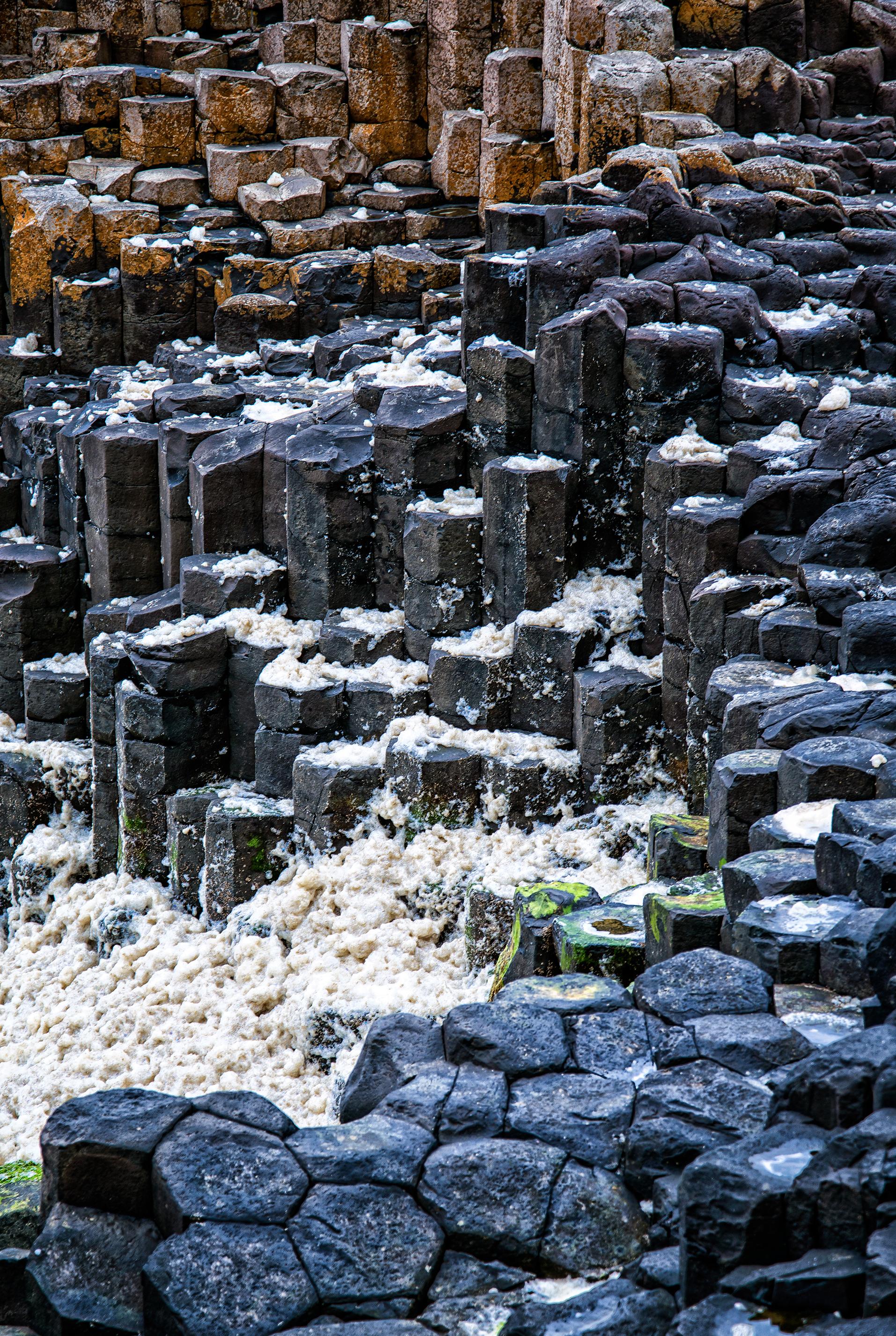 Sea Foam & Sea Stone