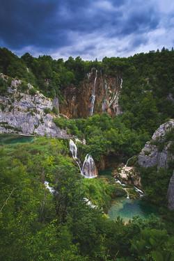 Sastavci Falls, Plitvice Lakes National Park, Croatia