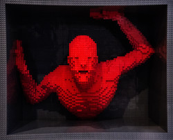 Art of the Brick - Nathan Sawaya - Trapp