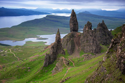 The Old Man of Storr--viewed from the we