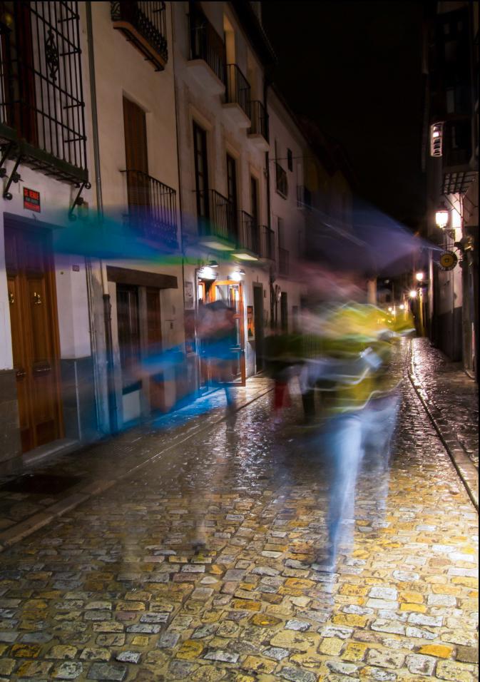 Swiftly from the rain Granada