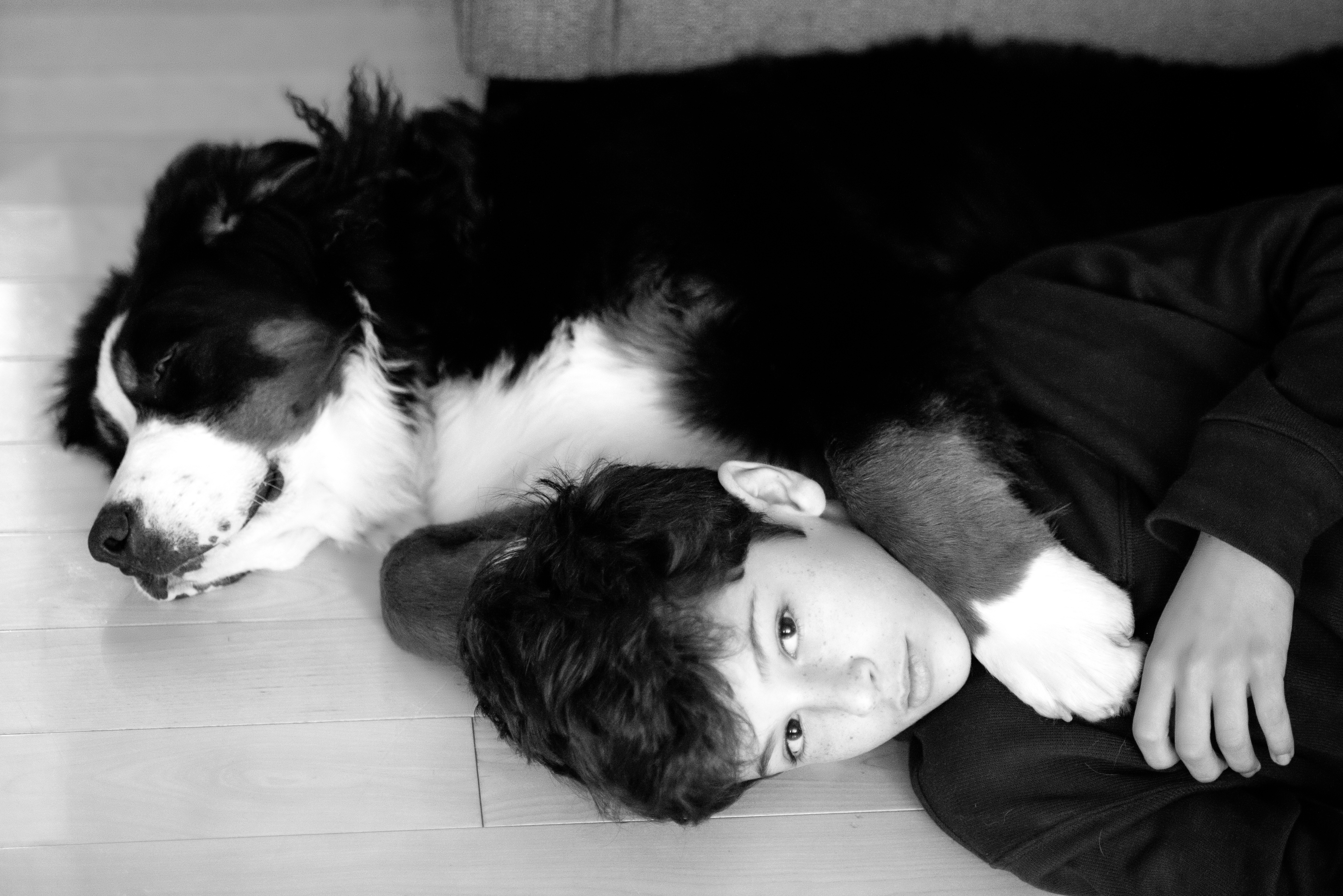 A Boy and his Dog BW