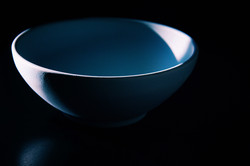 Robin's egg blue bowl
