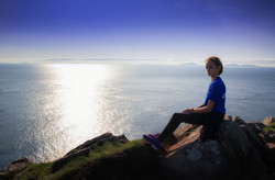 Amelie at Neist Point