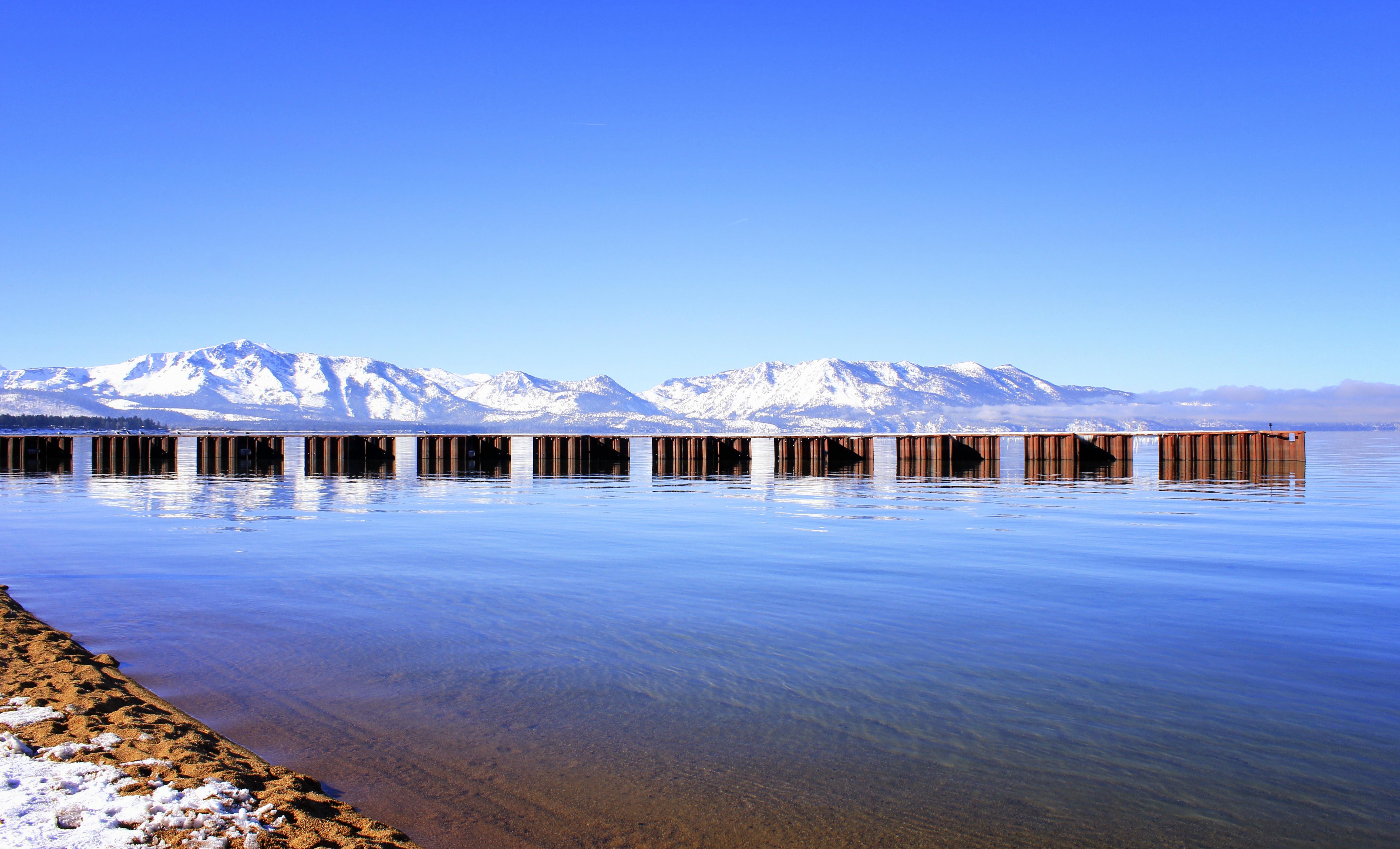 South Lake Tahoe shore