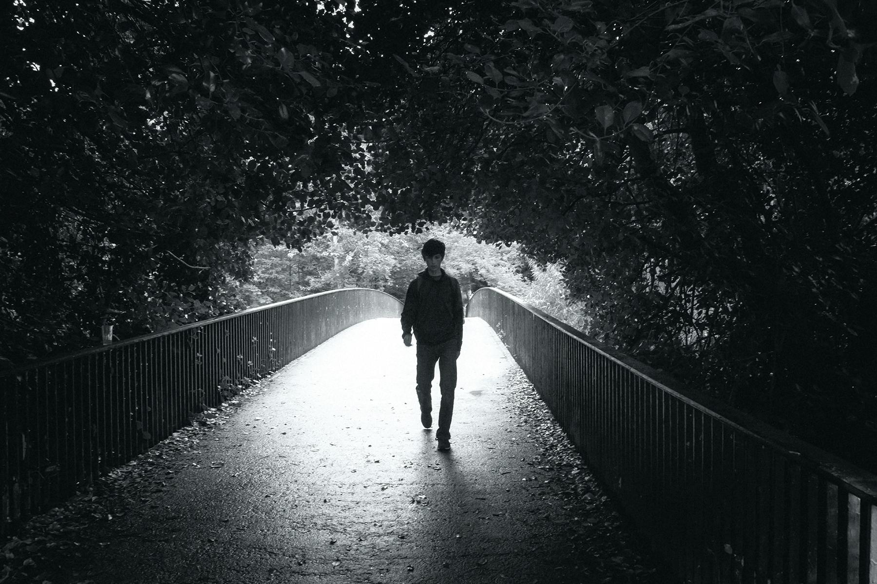 Julian at Kelvingrove Park, Glasgow