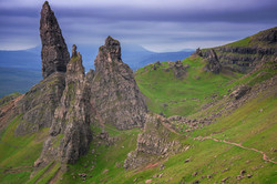 Trails to Old Man Storr