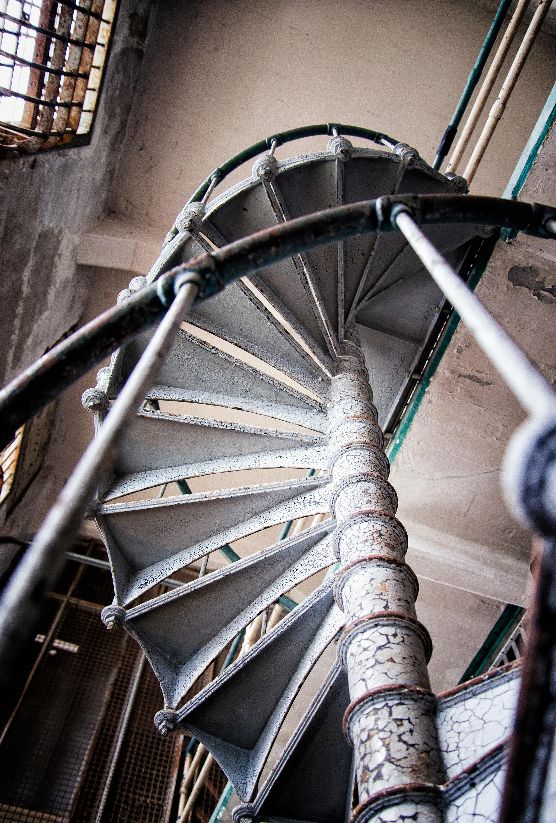 Alcatraz Island - Staircase Between Cell