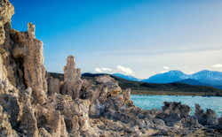 Tufa, Mono Lake & the Sierra Nevada Moun