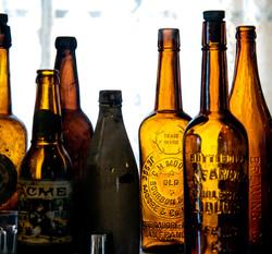 Vintage Beer Bottles--Bodie Ghost Town